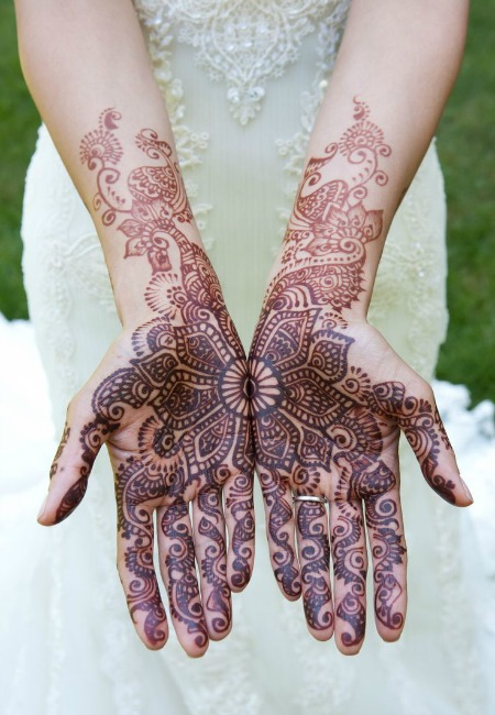 Easy mehendi designs 5