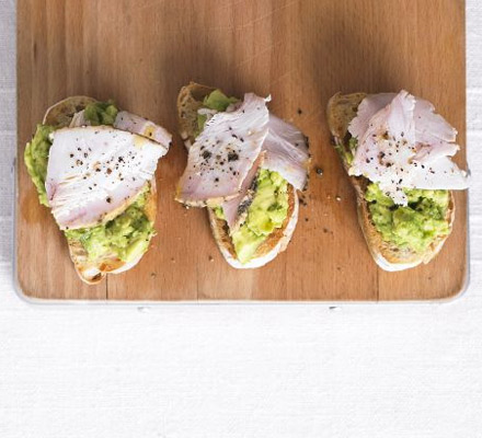 Turkey & avocado toast