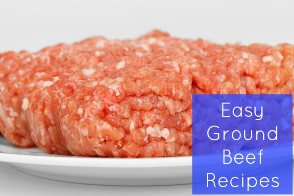 easy ground beef recipes cover