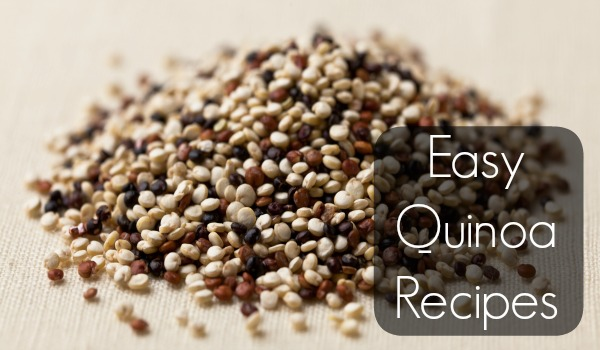 easy quinoa recipes cover