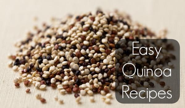 easy quinoa recipes cover