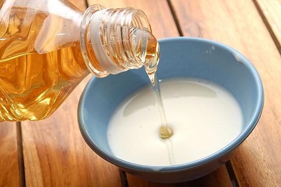 milk honey and lemon juice face pack