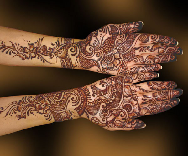 Mehndi Patterns Images : Stunning mehndi designs and patterns easyday