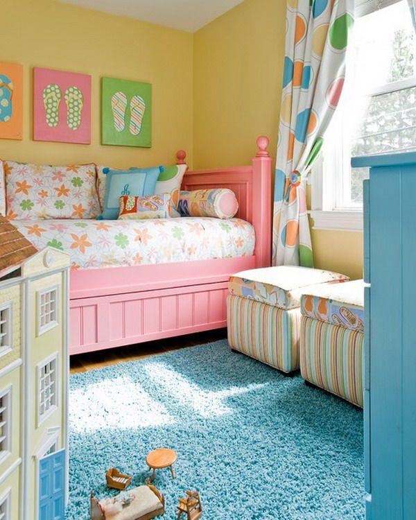 light color girl bedroom