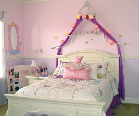 30 stunning bedroom decorating ideas easyday for Princess themed bed