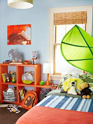 bright boys bedroom