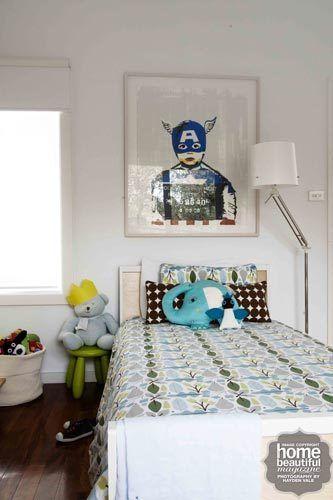 simple kids bedroom