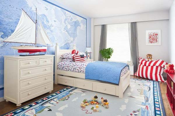 nautical beach bedroom