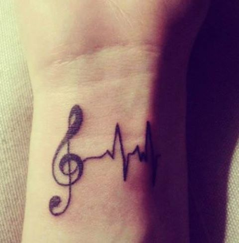 lifeline music tattoo