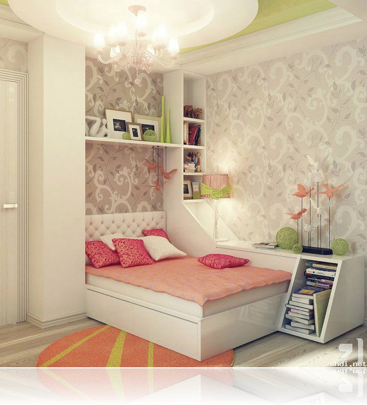 beautiful small bedroom