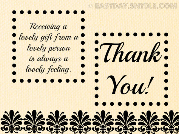 Thank You Note For Gift Popular Messages Thank You Note To Boss For
