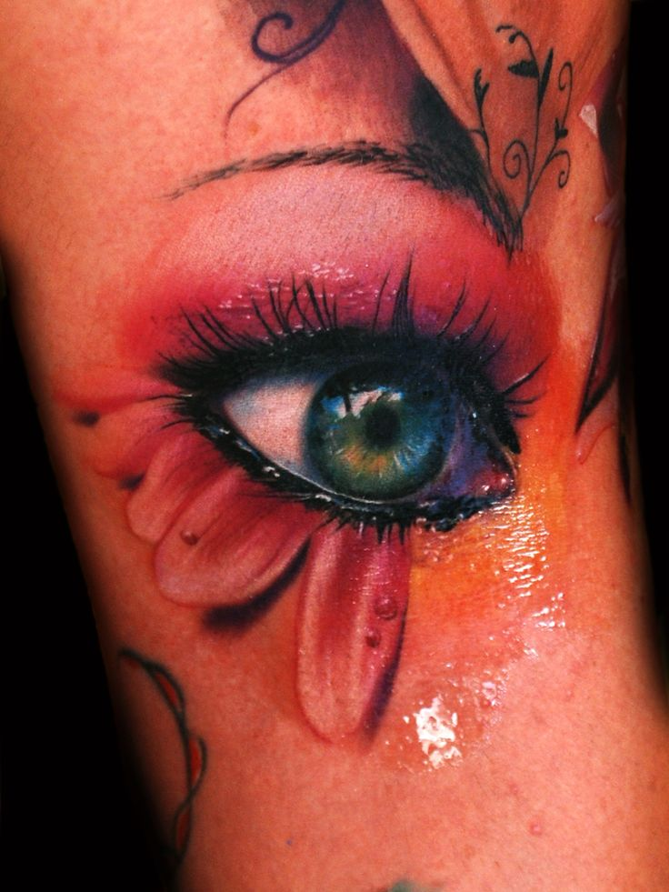 epic eye tattoo
