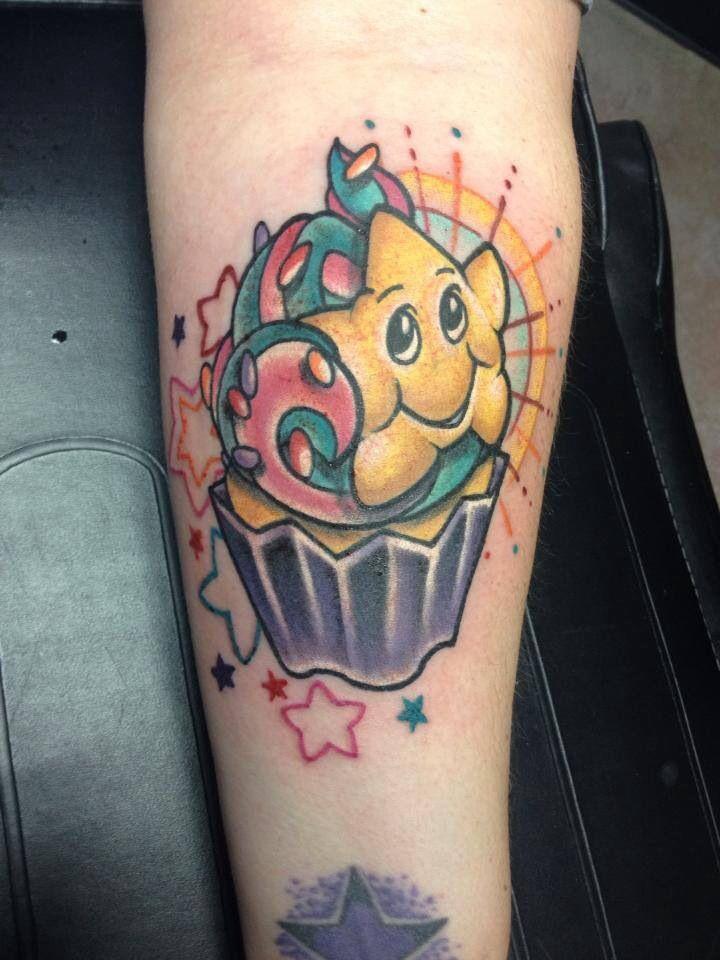 smiling star tattoo