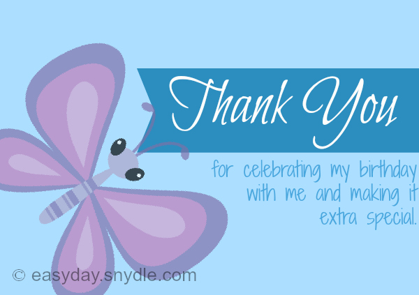 sample birthday thank you notes for birthday gifts  easyday, Birthday card
