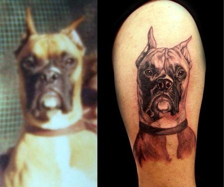 your pet tattoo