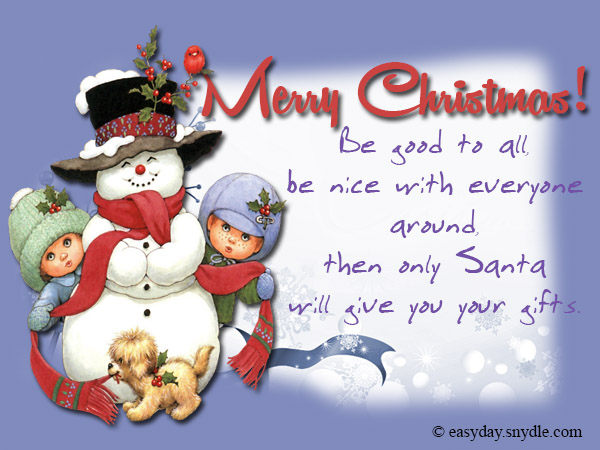 Funny Christmas Greetings And Sayings