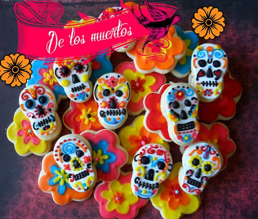 Day of the dead cookies -
