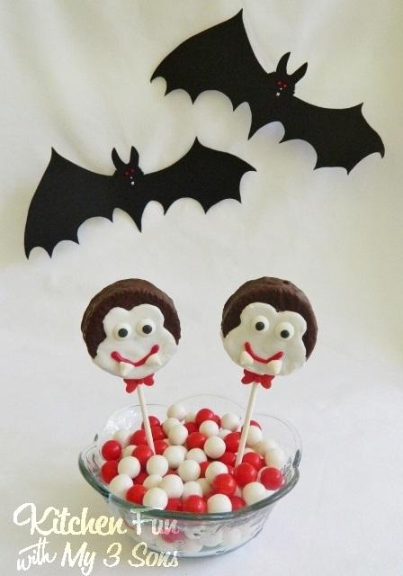 Dracula Cake Pops
