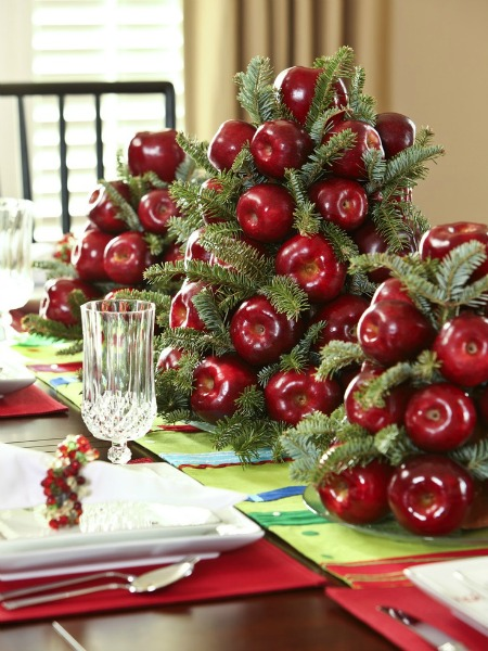 Green Christmas Decorating Ideas 19