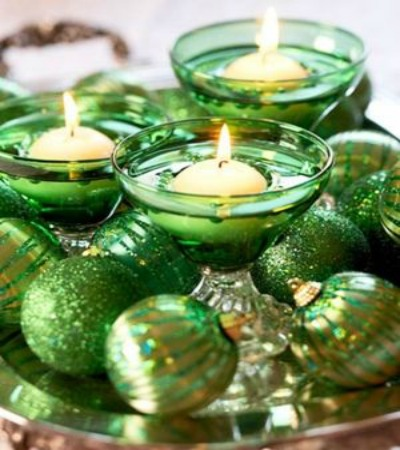Green Christmas Decorating Ideas 2