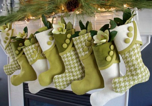 Green Christmas Decorating Ideas 20