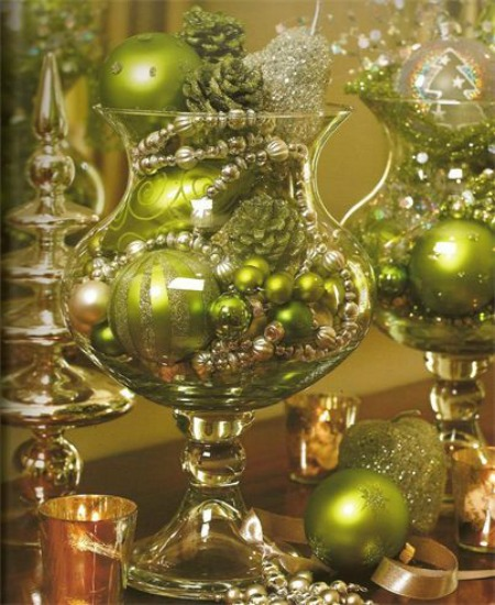 Green Christmas Decorating Ideas 9