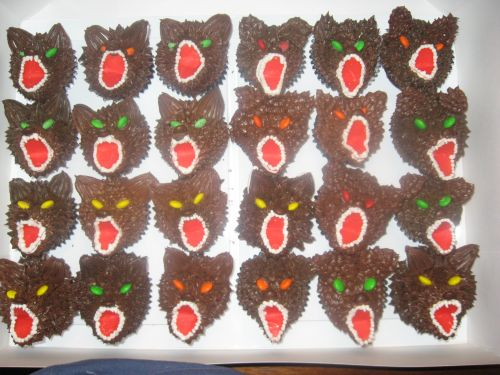 Werewolves Cupcake