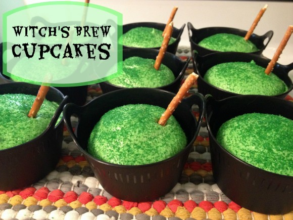 Witch's Brew Cupcakes