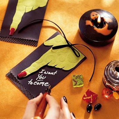 halloween party invitation ideas 18 - Creative Halloween Party Invitations