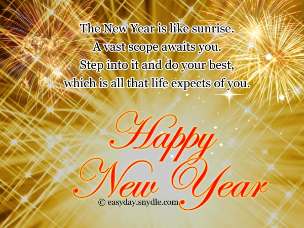 Happy new year wishes easyday happy new year wishes m4hsunfo