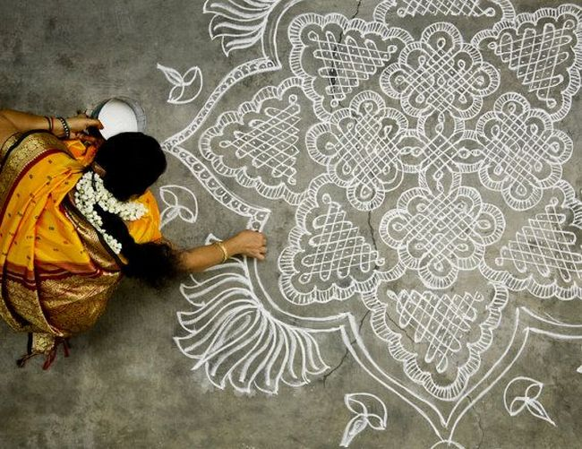 kolam-for-Diwali