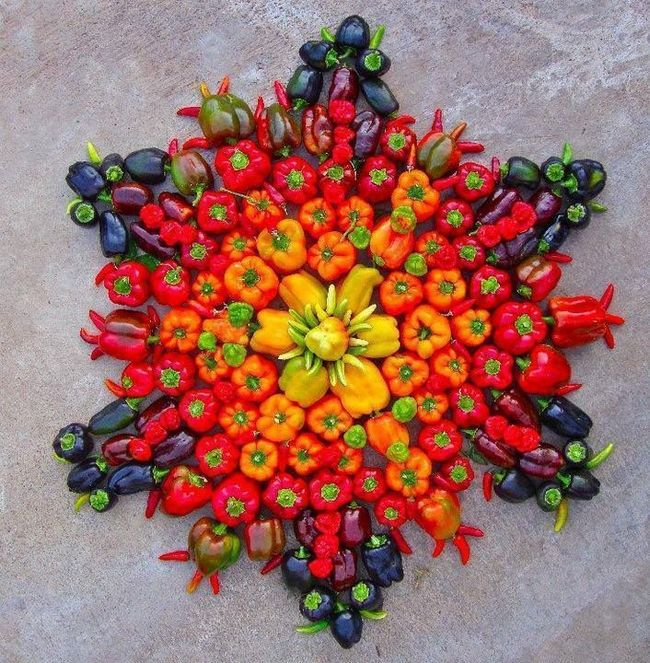 vegetable_rangoli