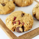 Almond Cranberry Oatmeal Cookies