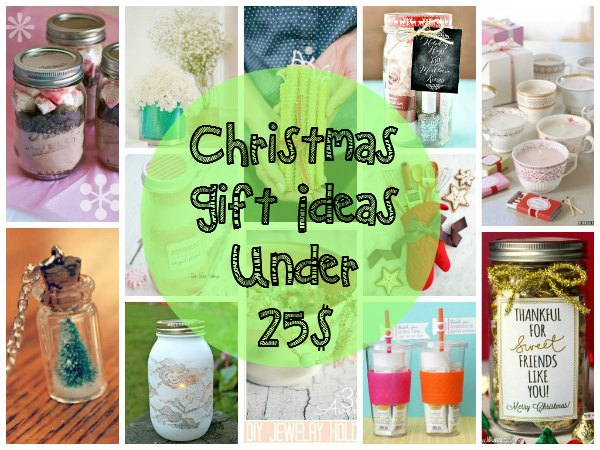 Christmas Gift Ideas Under 25$ - Easyday