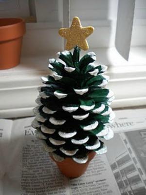 Homemade Christmas Decorations 13