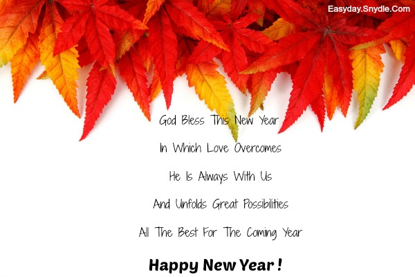 Christian New Year Messages - Easyday