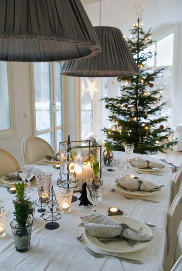 table-christmas-decorations