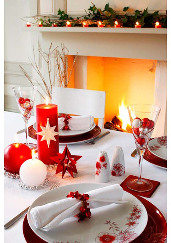 table-decorations-for-christmas