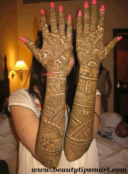 Arabic Mehendi Designs 10