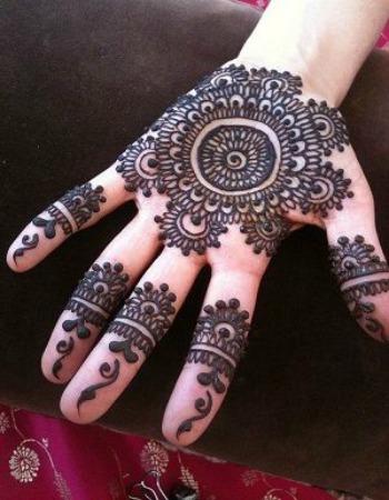 Arabic Mehendi Designs 11