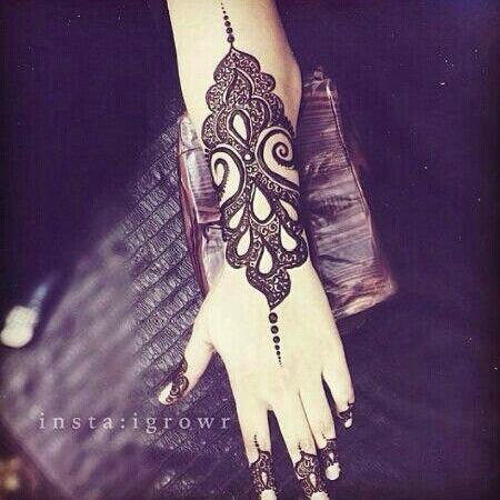 Arabic Mehendi Designs 16