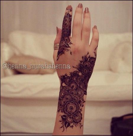 Arabic Mehendi Designs 17