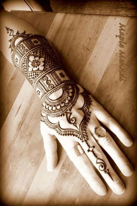 Arabic Mehendi Designs 2