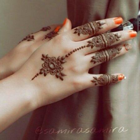 Arabic Mehendi Designs 20