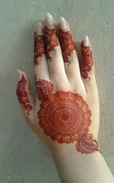 Arabic Mehendi Designs 5