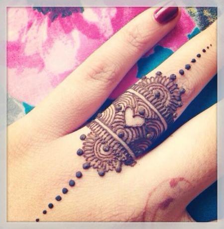 Arabic Mehendi Designs 8