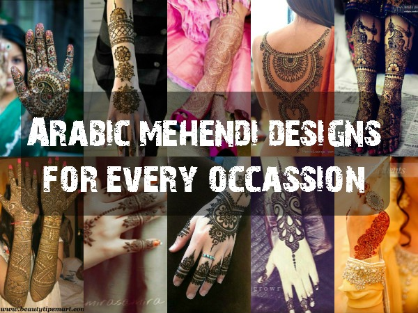 Arabic Mehendi Designs main
