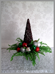 Chocolate Christmas Tree Centrepiece
