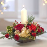Christmas Candle Carnation