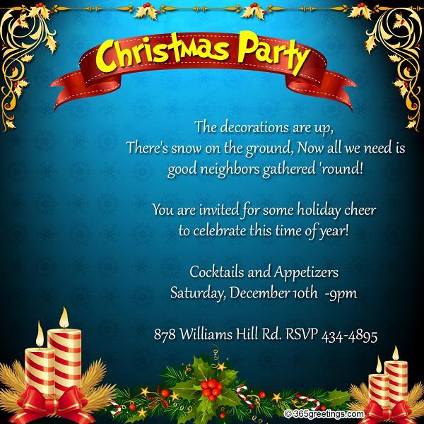 top christmas invitations for this christmas  u2013 easyday